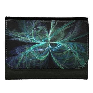 Psychic Energy Fractal Wallets For Women