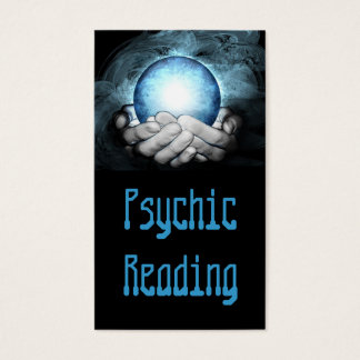 Psychic Hand Palm Reading Destiny Fortune Teller Business Card
