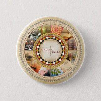 Psychic Library 2 Inch Round Button