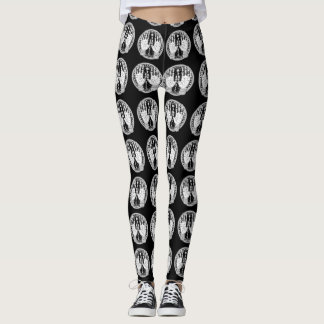 Psychic Palm Reader Occult Style Leggings