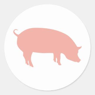 Psychic Pig Euro 2012 Classic Round Sticker