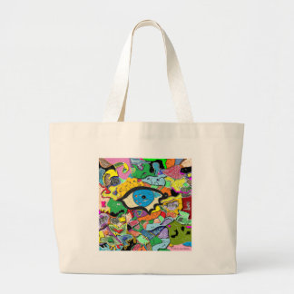 Psychic Portal Large Tote Bag