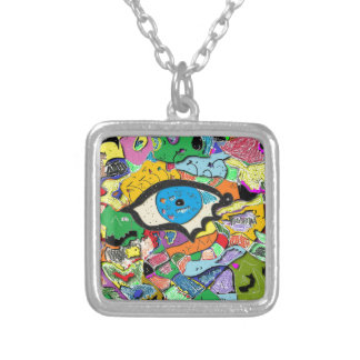 Psychic Portal Silver Plated Necklace