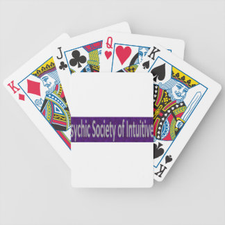 Psychic Society of Intuitives store Bicycle Playing Cards