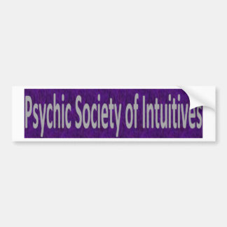 Psychic Society of Intuitives store Bumper Sticker