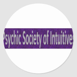Psychic Society of Intuitives store Classic Round Sticker