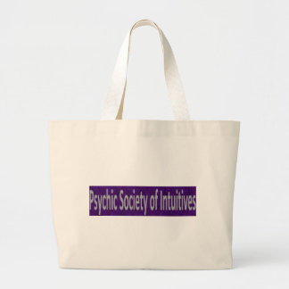 Psychic Society of Intuitives store Large Tote Bag