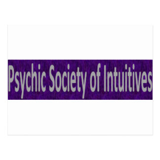 Psychic Society of Intuitives store Postcard