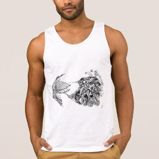 Psycho bird tank top
