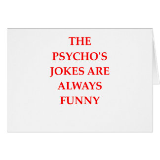 PSYCHO CARD