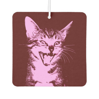 Psycho Cat Air Freshener