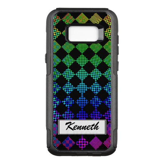 Psycho Checkers by Kenneth Yoncich OtterBox Commuter Samsung Galaxy S8+ Case