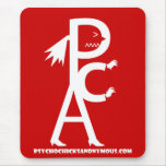 Psycho Chicks Anonymous Mouse Pad #1