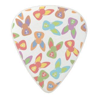 Psycho Easter Pattern colorful Acetal Guitar Pick