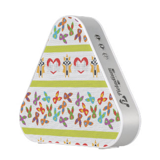 Psycho Easter Pattern colorful Blueooth Speaker