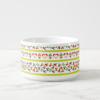 Psycho Easter Pattern colorful Bowl