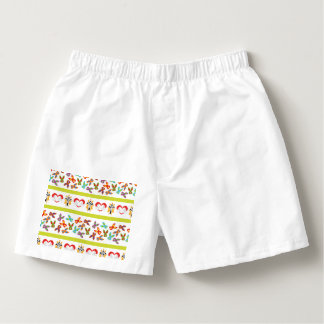 Psycho Easter Pattern colorful Boxers