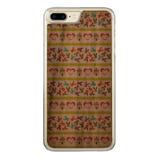 Psycho Easter Pattern colorful Carved iPhone 8 Plus/7 Plus Case