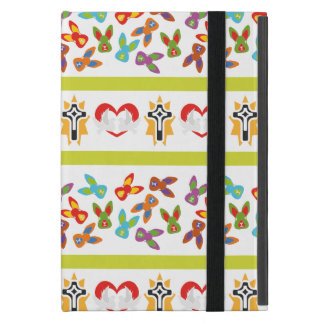 Psycho Easter Pattern colorful Case For iPad Mini