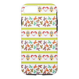 Psycho Easter Pattern colorful Case-Mate iPhone Case