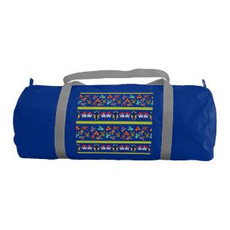 Psycho Easter Pattern colorful Gym Bag
