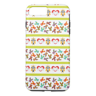 Psycho Easter Pattern colorful iPhone 7 Plus Case