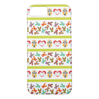 Psycho Easter Pattern colorful iPhone 8/7 Case