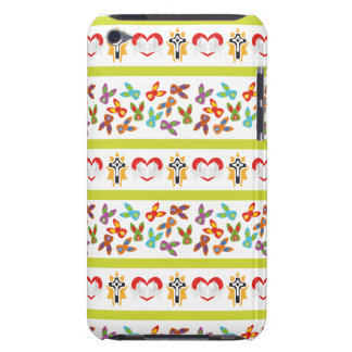 Psycho Easter Pattern colorful iPod Touch Cover