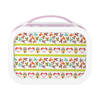 Psycho Easter Pattern colorful Lunch Box