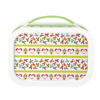 Psycho Easter Pattern colorful Lunchbox