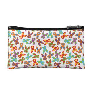 Psycho Easter Pattern colorful Makeup Bag