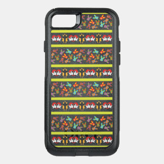 Psycho Easter Pattern colorful OtterBox Commuter iPhone 8/7 Case