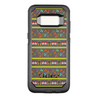 Psycho Easter Pattern colorful OtterBox Commuter Samsung Galaxy S8 Case