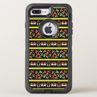 Psycho Easter Pattern colorful OtterBox Defender iPhone 7 Plus Case