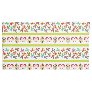 Psycho Easter Pattern colorful Pillowcase