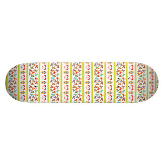 Psycho Easter Pattern colorful Skate Board