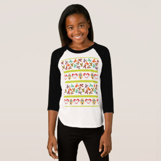 Psycho Easter Pattern colorful T-Shirt