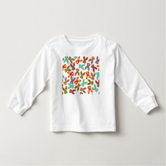 Psycho Easter Pattern colorful Toddler T-shirt