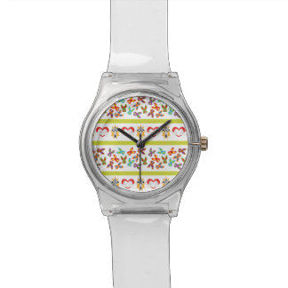 Psycho Easter Pattern colorful Wrist Watches