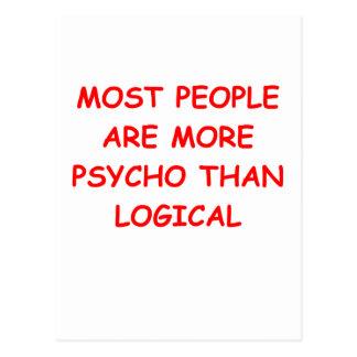 psycho logical postcard