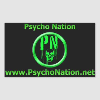 Psycho Nation Sticker