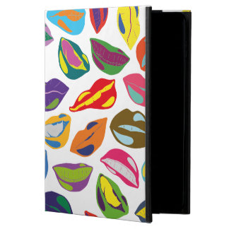 Psycho retro colorful pattern Lips