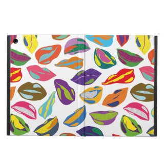 Psycho retro colorful pattern Lips Case For iPad Air