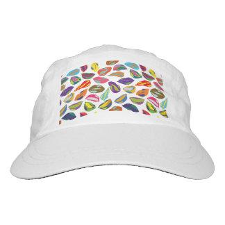 Psycho retro colorful pattern Lips Hat