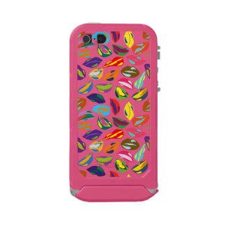 Psycho retro colorful pattern Lips Incipio ATLAS ID™ iPhone 5 Case