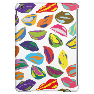 Psycho retro colorful pattern Lips iPad Air Case