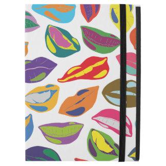 "Psycho retro colorful pattern Lips iPad Pro 12.9"" Case"