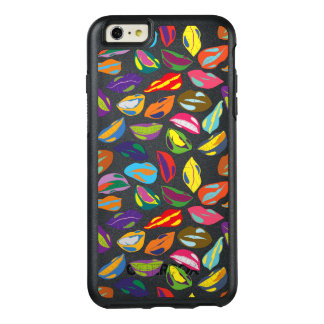 Psycho retro colorful pattern Lips OtterBox iPhone 6/6s Plus Case
