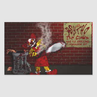 Psycho the Clown Sticker
