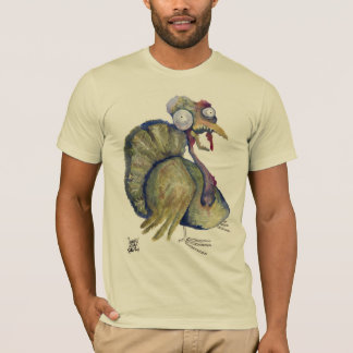 Psycho Zombie Turkey by Ditch Frame T-Shirt